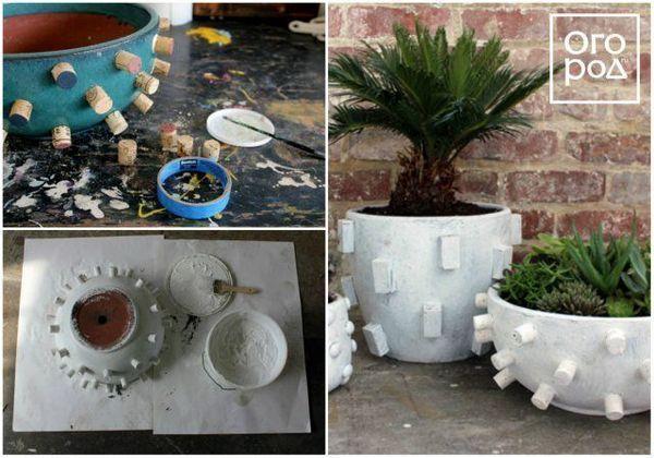 13 ideja za izradu neobičnog spremnika za cvijeće