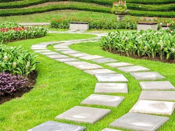 16 nápadov, z ktorých si môžete urobiť krásnu a praktickú záhradnú cestu 21
