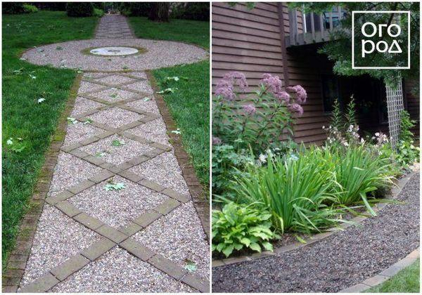 16 nápadov, z ktorých si môžete urobiť krásnu a praktickú záhradnú cestu 3