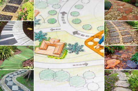 16 nápadov urobiť krásnu a praktickú záhradnú cestu 31