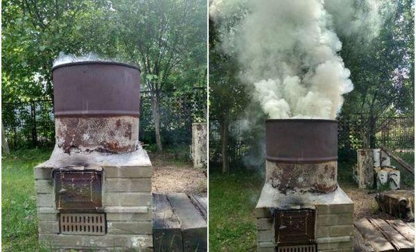 Ako vyrobiť pec na spaľovanie odpadu v krajine vlastnými rukami