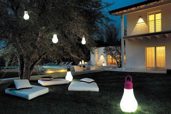 Osvetlenie záhrady: dodržiavame pravidlá as inšpiráciou 14