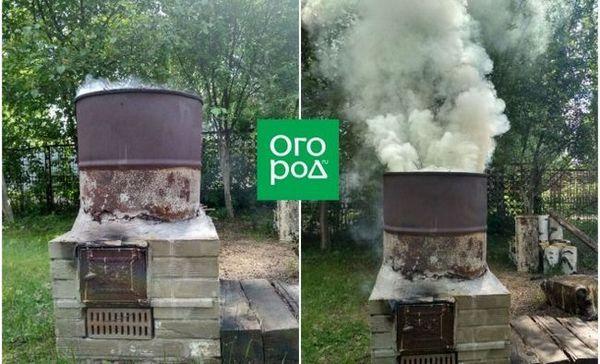 Pec na spaľovanie odpadu z leonid kotlyar - ako stavať za 3 dni