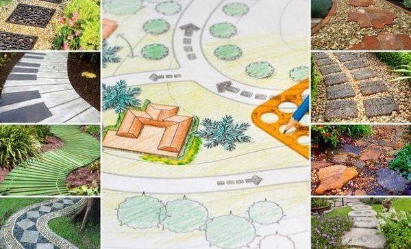 Napravite vrtne staze - kako i što se može napraviti