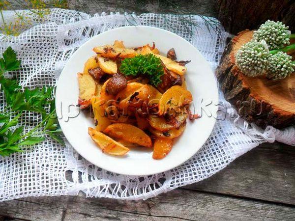 Cartofi prăjiți cu unt